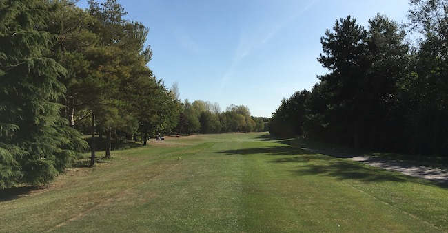 View from the 1st tee - 19 September 2019