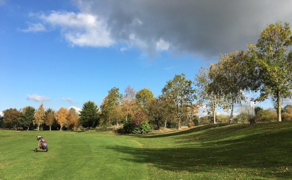 Autumn colours - Hole 6 - 18 October 2018
