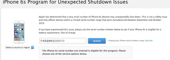 iPhone unexpected shutdown issues